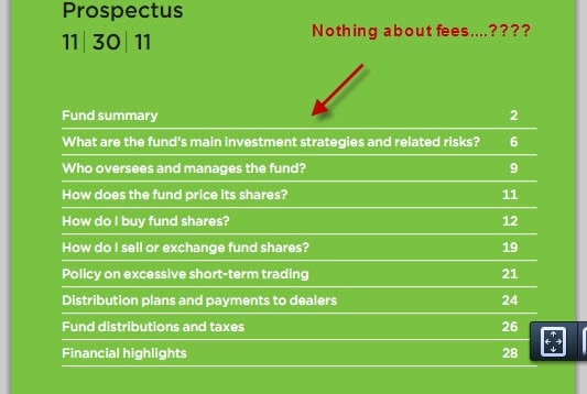 what is a mutual fund prospectus