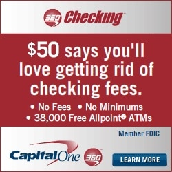 Capital One Box Banner
