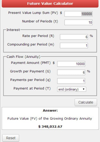online financial calculators